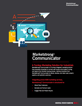 Marketstrong Communicator: A Turnkey Solution for Industrials
